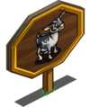 Alpine Dairy Goat Mastery Sign-icon