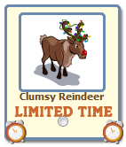 Clumsy Reindeer Giftable