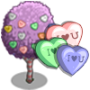 Heart Candy Tree-icon