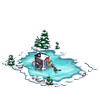 Ice Fishing Lake-icon