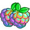 Rainbow Custard Apple-icon