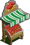 Red Chrysanthemum Stall-icon