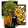 Dinosaur Fossil Tree-icon