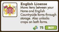 English Licence-info