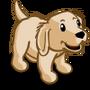 Golden Retriever Puppy Cream-icon