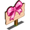 Pink Bow Mastery Sign-icon