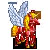 Ruby Red Pegasus-icon