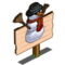 Snowman (crop) Mastery Sign-icon