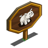 White Pig Mastery Sign-icon