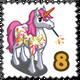 Fireworks Unicorn Stamp-icon
