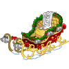 Gilded Holiday Sleigh-icon