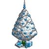 White Xmas Tree-icon