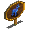 Plaid Horse Mastery Sign-icon