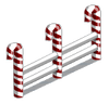 Winter candy fence-icon