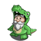 Alligator Gnome-icon