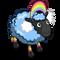 Rainbow Cloud Ewe-icon