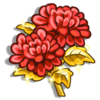Red Chrysanthemum-icon