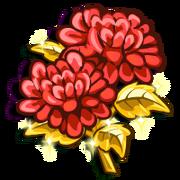 Red Chrysanthemum-icon