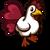 Red Heart Chicken-icon