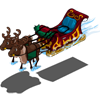 Floating Sleigh-icon