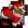 Holiday Corgi-icon