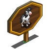 Metal Hair Foal Mastery Sign-icon