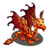 Flaming Red Dragon-icon