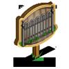 Iron Fence Mastery Sign-icon