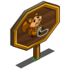 Jump Rope Squirrel Mastery Sign-icon