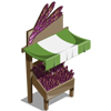 Purple Asparagus Stall-icon