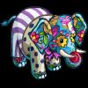 Sad Clown Elephant-icon