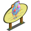 4th Birthday Cotton Candy Tree Mastery Sign-icon