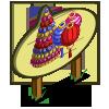Big New Year Lantern Tree Mastery Sign-icon