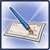 Donation Cheque-icon