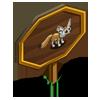 Fennec Fox Mastery Sign-icon