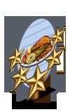 Field Pea Surprise 5 Star Mastery Sign-icon