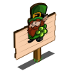Leprechaun Gnome (crop) Mastery Sign-icon
