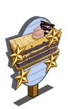 Mocha Blackberry Cake 4 Star Mastery Sign-icon