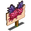 Red Pineapple Mastery Sign-icon