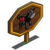Anti-Valentine Cow Mastery Sign-icon