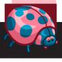 Bright Colorful Ladybug-icon