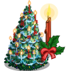 Holiday Candle Tree-icon