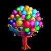 Breeze Balloon Tree-icon