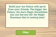 Ice Palace Info Message