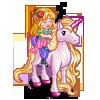 Sleeping Beauty Unicorn-icon