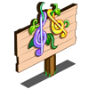 Treble Clef Mastery Sign-icon