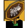 Zebra Pig Mastery Sign-icon