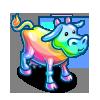 Rainbow Glass Cow-icon