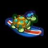 Surfer Turtle-icon