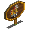 Armored Unicorn Mastery Sign-icon
